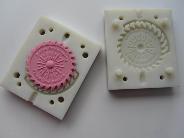 3D printed molds are great for making small parts.
