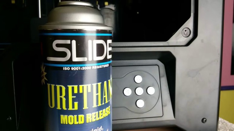 Mold release is a cheap and easy way to help your object come easily out of your 3D printed molds.