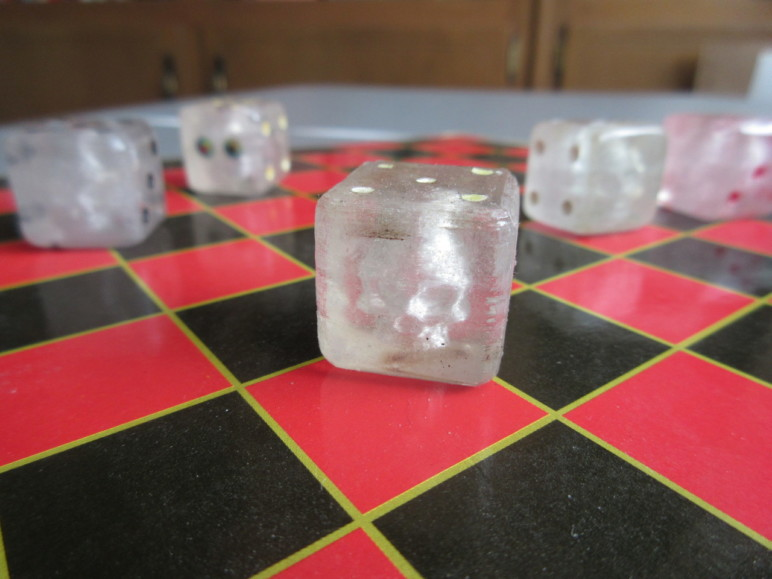Dice are a great project to showcase what you can do with clear/transparent PLA.