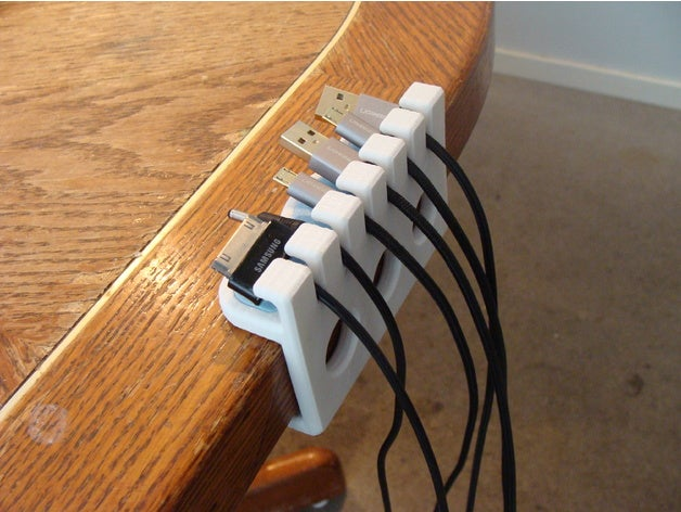 Image of Cool Things to 3D Print: USB Cable Organizer