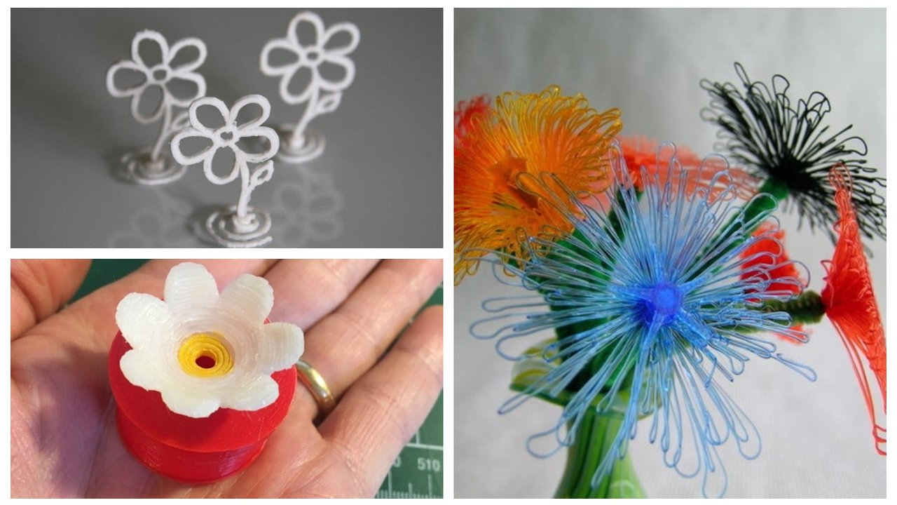 3D Printed Flowers – 7 Best Models for Springtime Cheer | All3DP