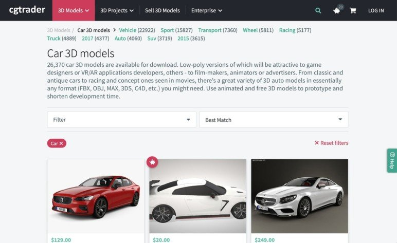 Car 3D Model Sources – 5 Best Sites | All3DP