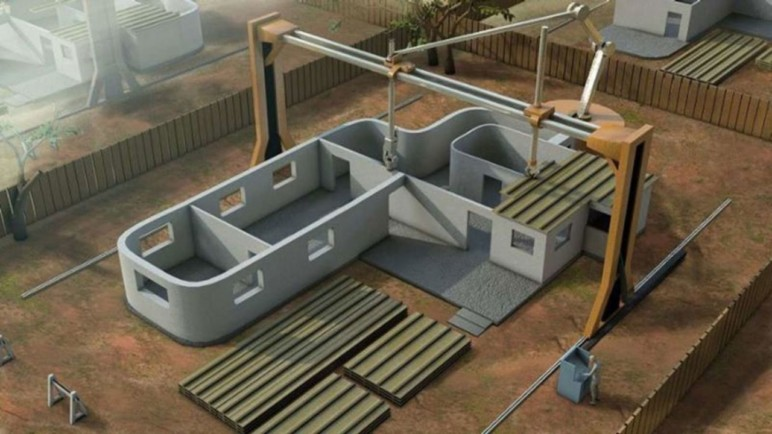 NASA-approved 3D printed housing.