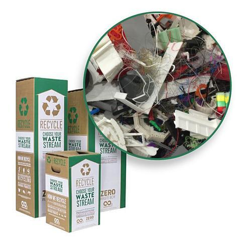 Filabot offers a filament recycling service through TerraCycle.