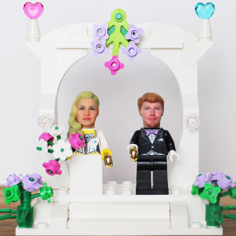 3D printed cake toppers.