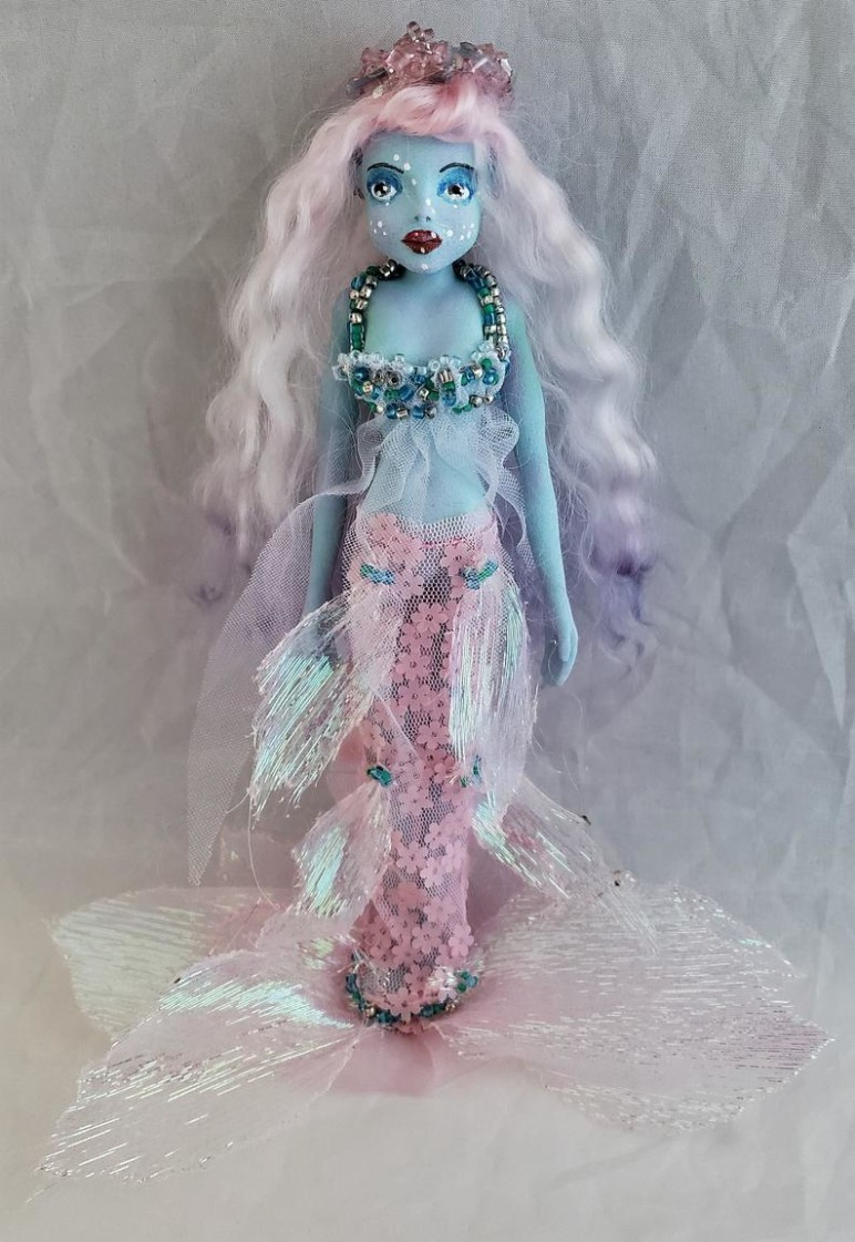 Who would guess this delicate doll was 3D printed?