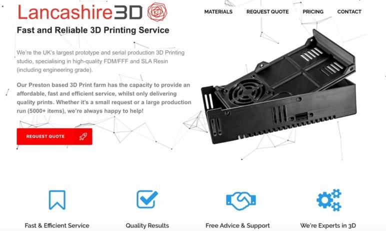 Lancashire3D's website.