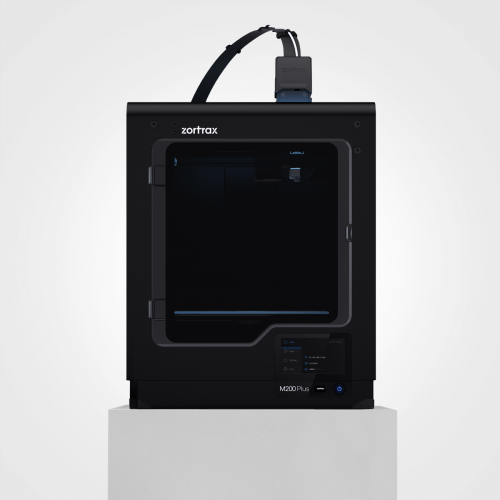 The Zortrax M200 Plus is a sleek, enclosed machine.