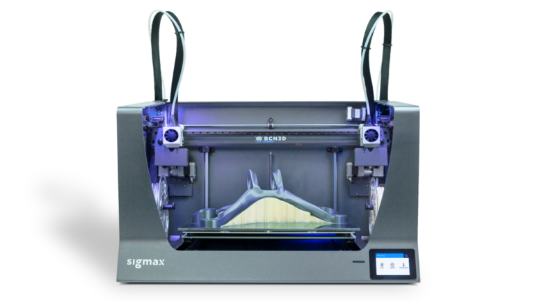 The BCN3D Sigmax R19 is a fatter version of the famed Sigma R19.