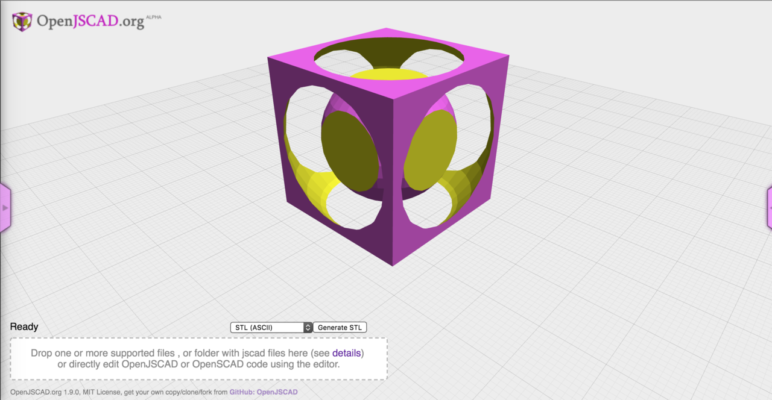 OpenJSCAD is a powerful online software for converting various file types to STL.