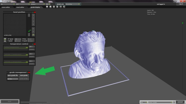 Voxelizer is capable of converting G-code back into an STL format with ease.
