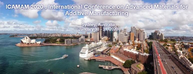 Image of 3D Printing / Additive Manufacturing Conference: Jan. 30-31, 2020 - ICAMAM 2020