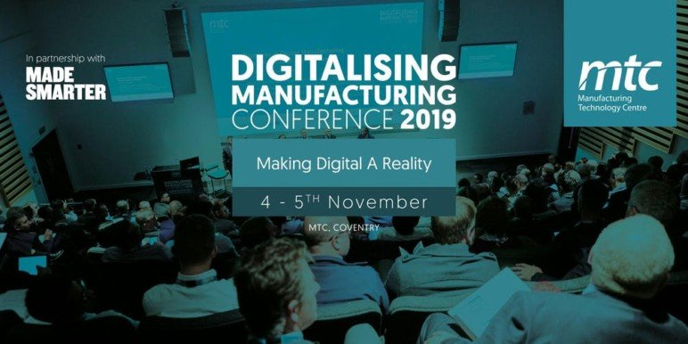 Image of 3D Printing / Additive Manufacturing Conference: Nov. 4-5, 2019 - Digitalising Manufacturing Conference 2019