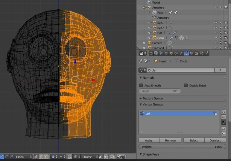Adding vertices to the