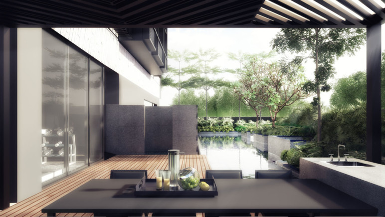 3D Rendering is enormous in the field of architecture.