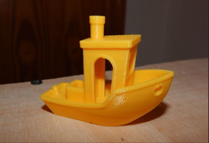 Our first test, the 3DBenchy.