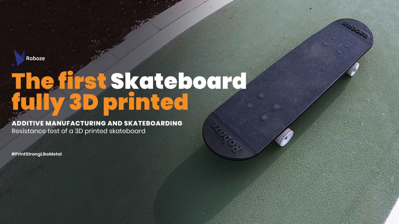 Достаточно ли хорош 3D-скейтборд для профессионального скейтбордиста?