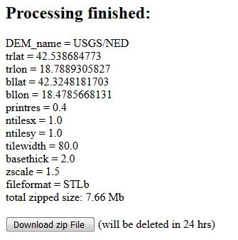 Как конвертировать 3D-модель ландшафта в STL-файл