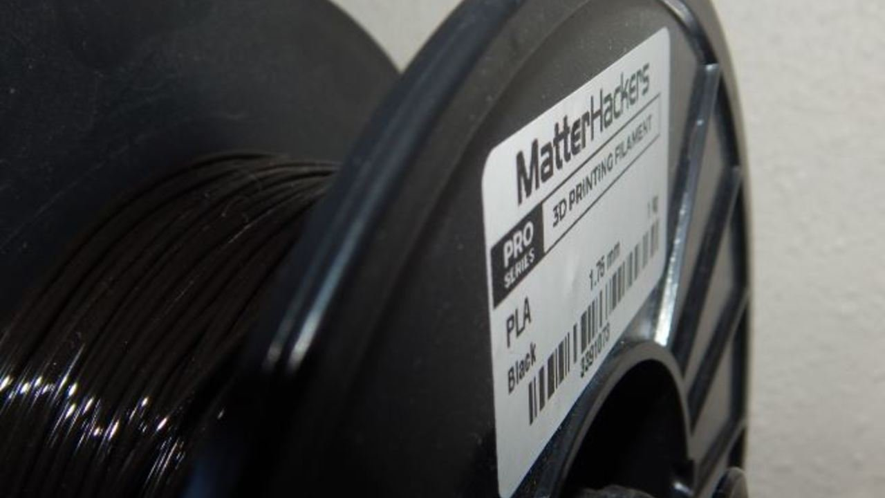 MatterHackers Pro PLA Filament Review | All3DP