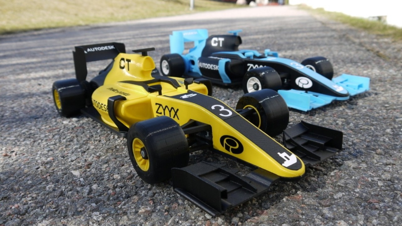 3D Printed RC Car: 12 Cars to Feel Like an F1 Racer | All3DP
