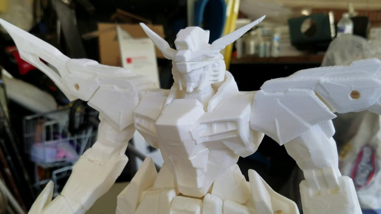 3D Printed Gundam: Best Curated Models | All3DP