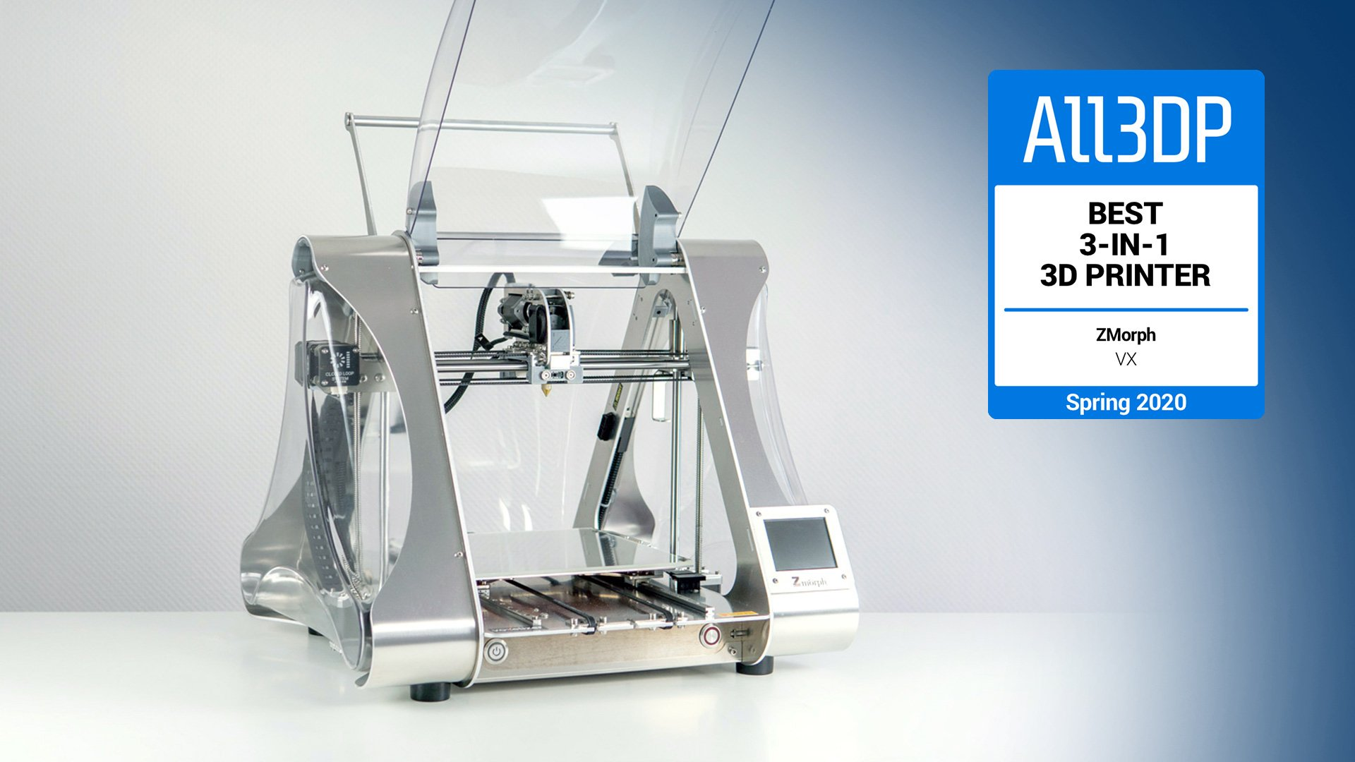 ZMorph VX Review: Best 3-in-1 3D Printer 2020 | All3DP Pro