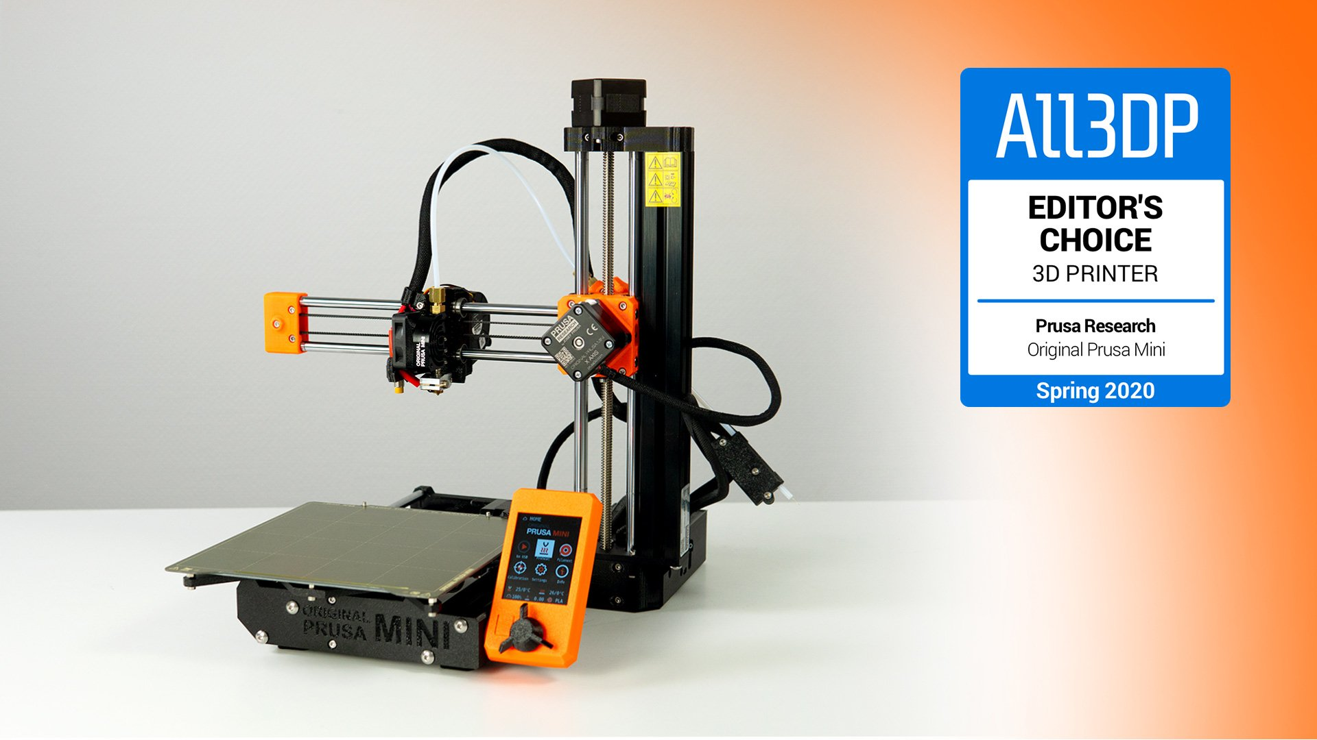 Original Prusa Mini Review: Editor's Choice | All3DP
