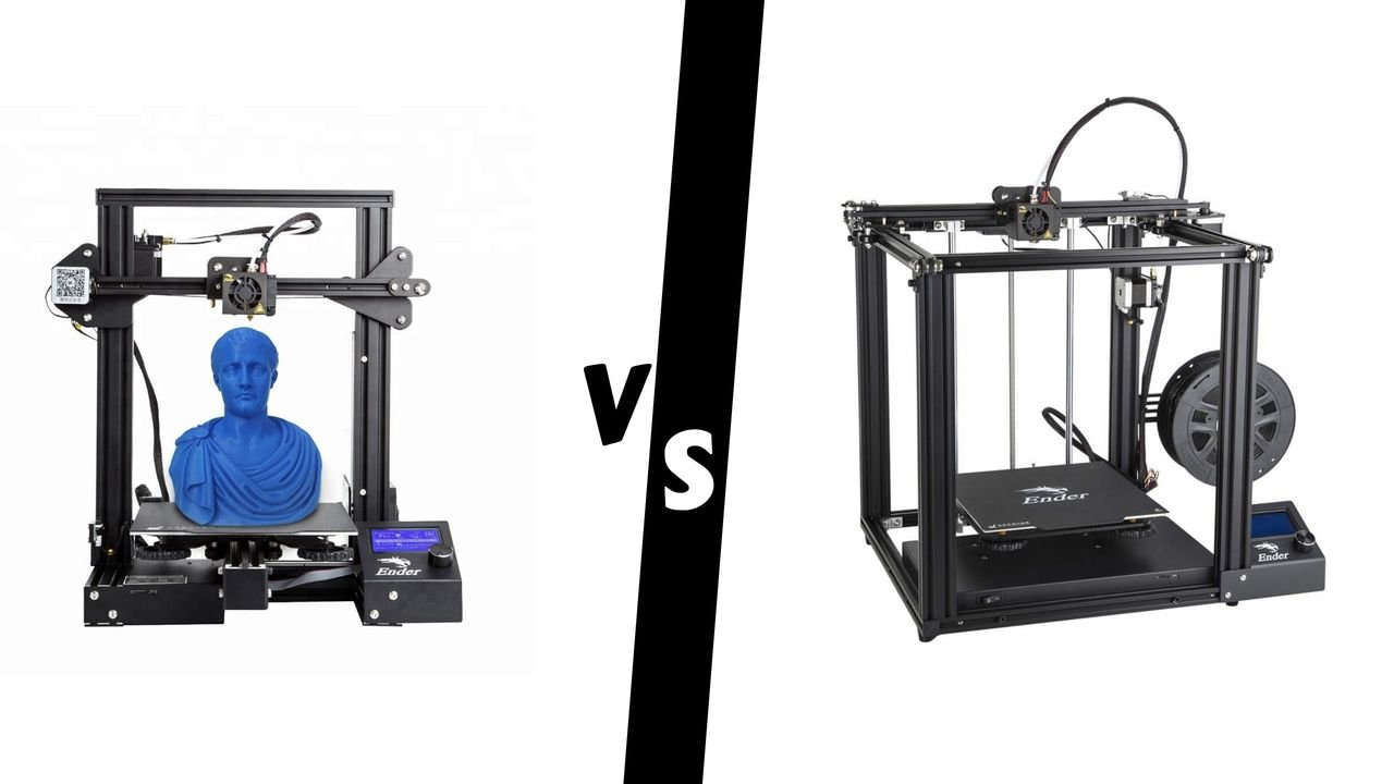 Ender 3 Pro vs Ender 5: The Differences | All3DP
