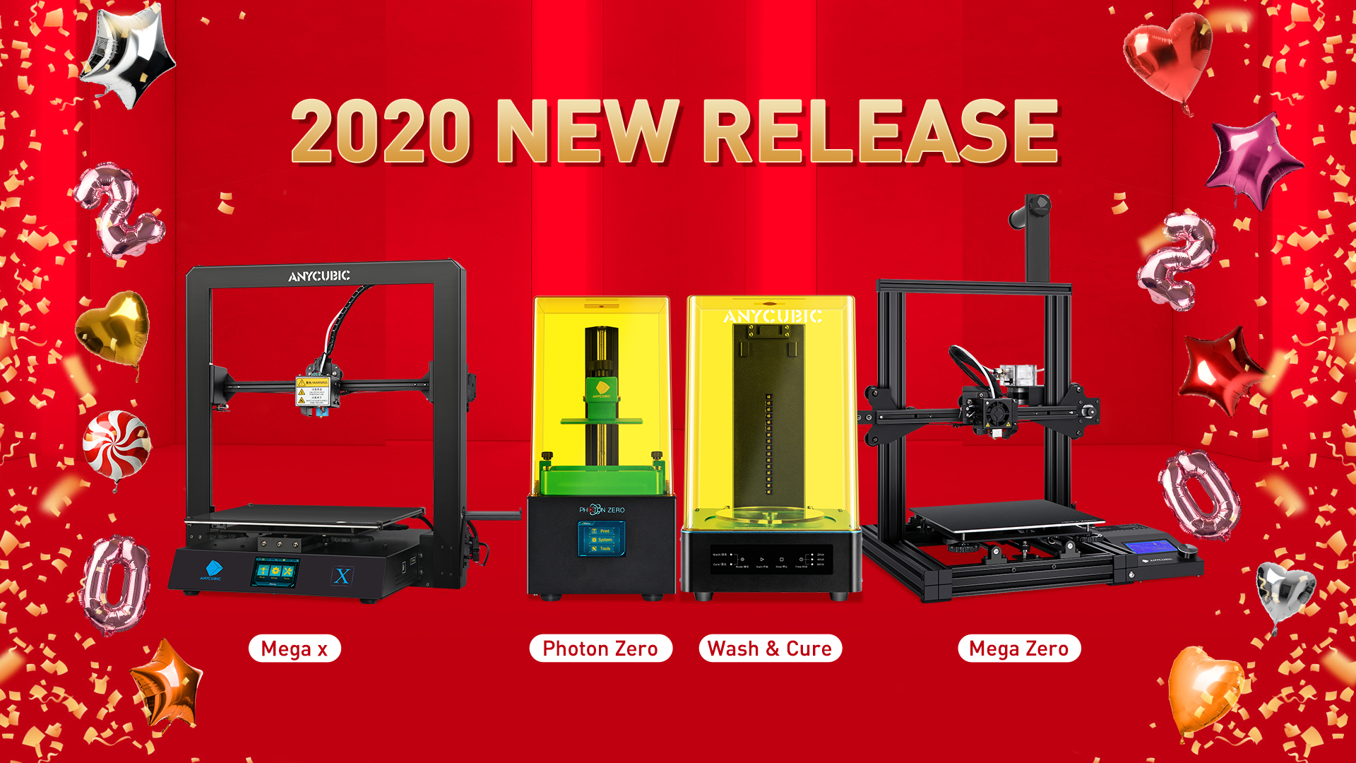 Anycubic Debuts New Printers and Wash & Cure Machine | All3DP