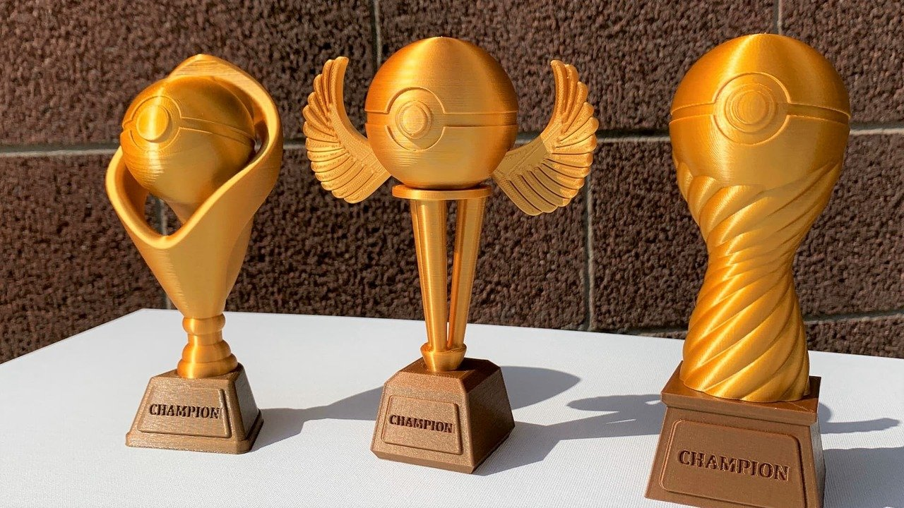 3D Printed Trophy: How to Model & Print Your Prize | All3DP