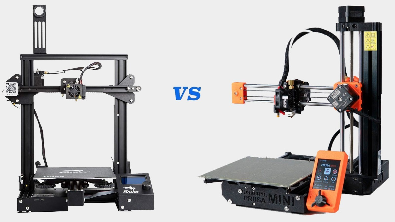 Original Prusa Mini vs Ender 3 (Pro/V2): The Differences | All3DP