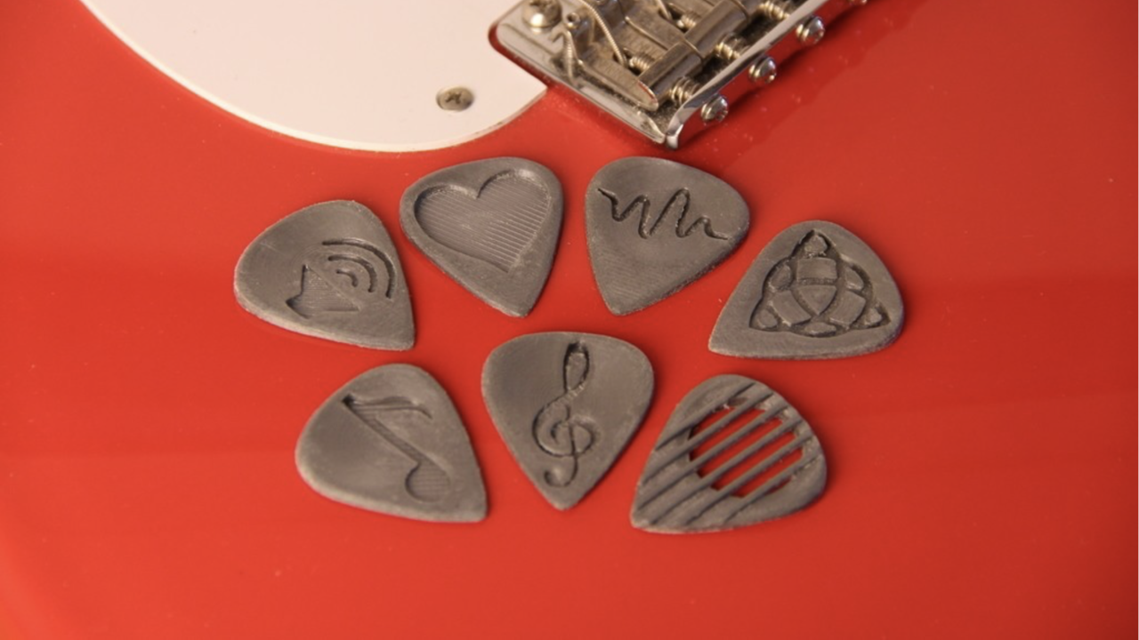 3D Printed Guitar Pick: 10 Amazing 3D Models | All3DP