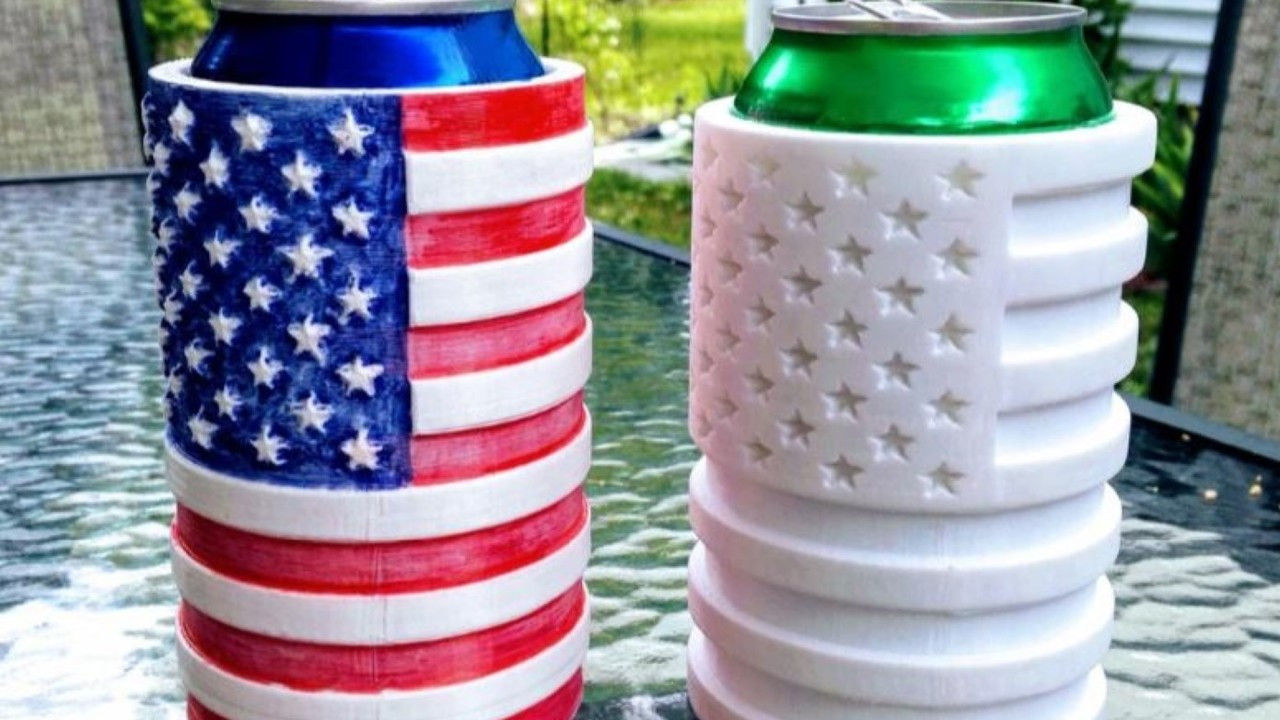 4th of July: 18 Great Models to Celebrate Independence Day | All3DP