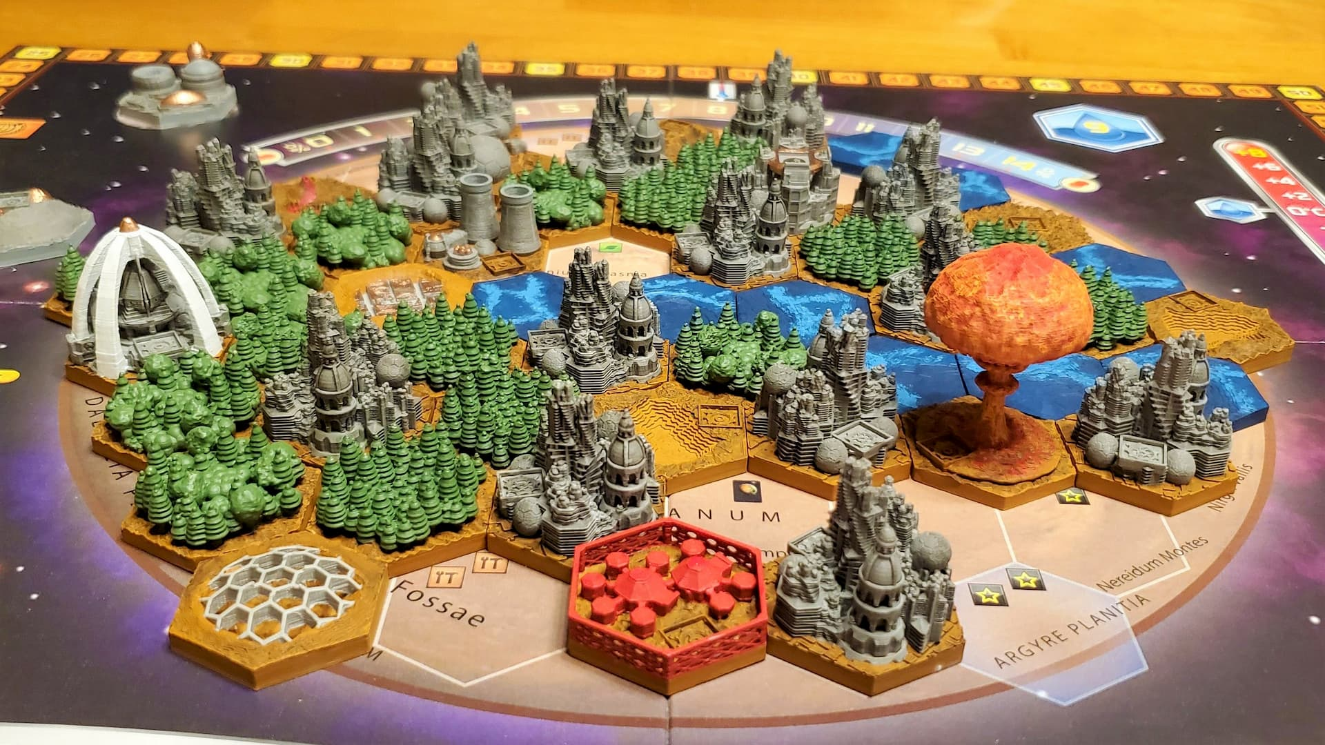 Terraforming Mars 3D Print: 10 Great Game Models | All3DP