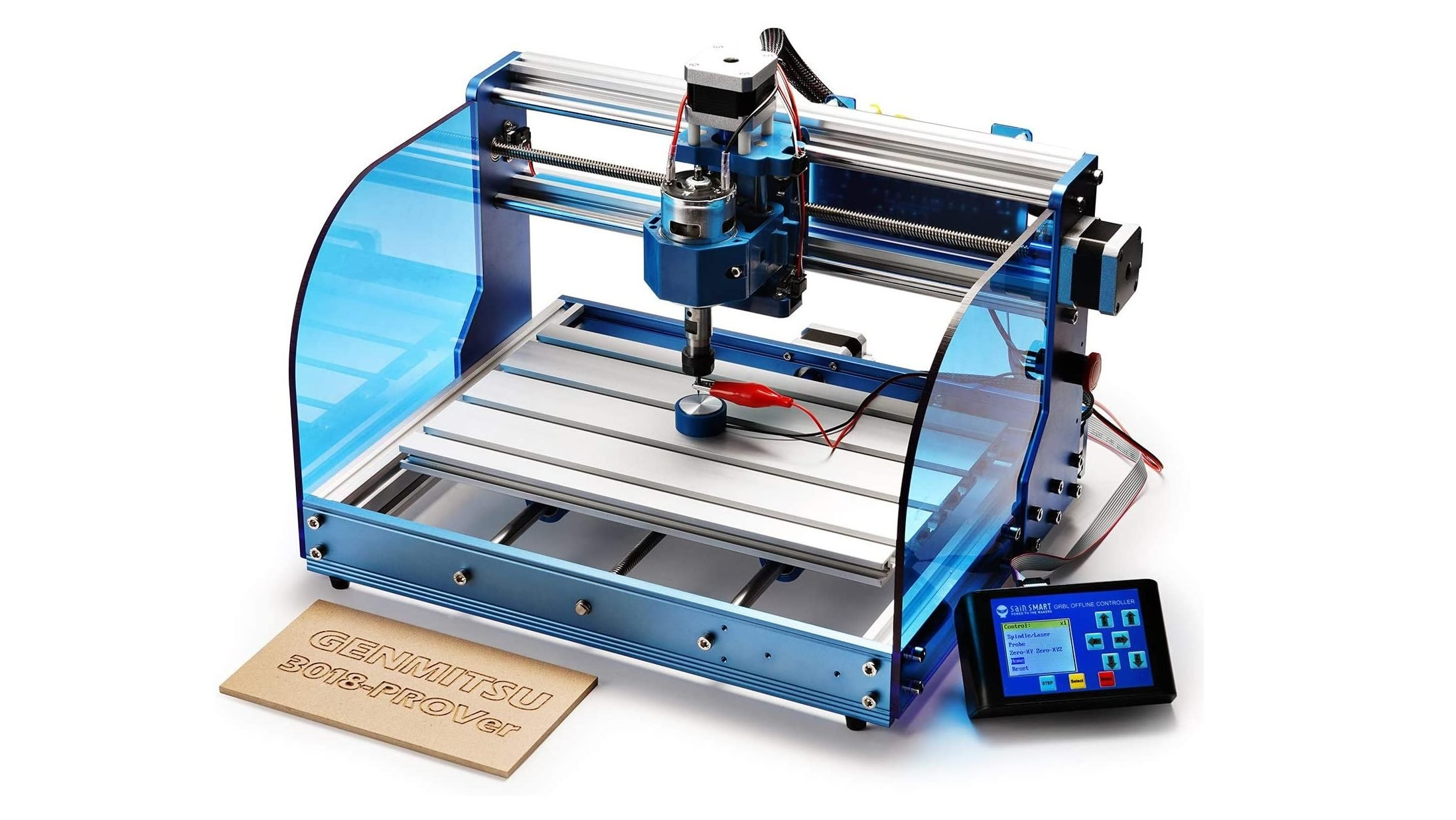 SainSmart Genmitsu CNC Router 3018-PROVer: Review the Specs | All3DP