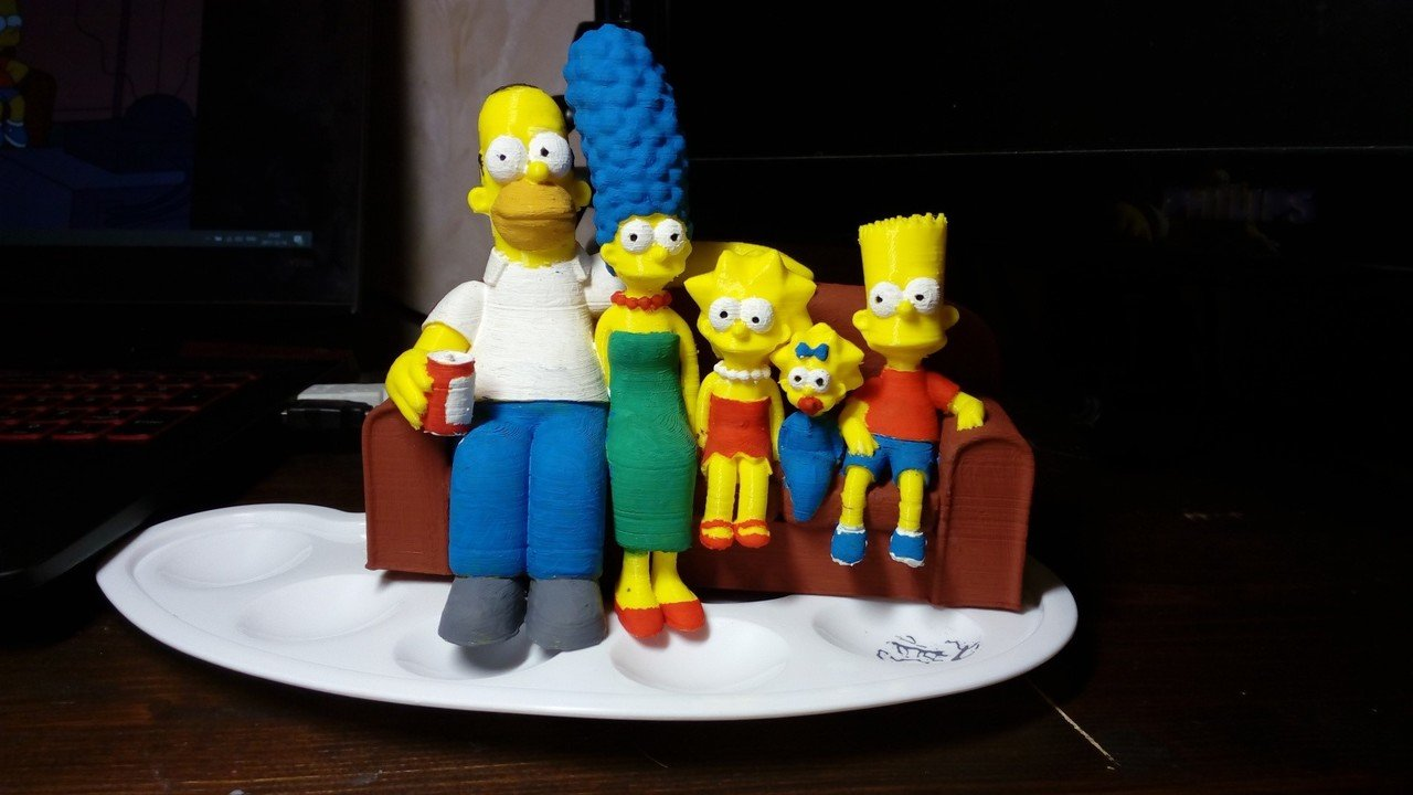 Simpsons 3D Prints: 15 Great 3D Models for Fans | All3DP