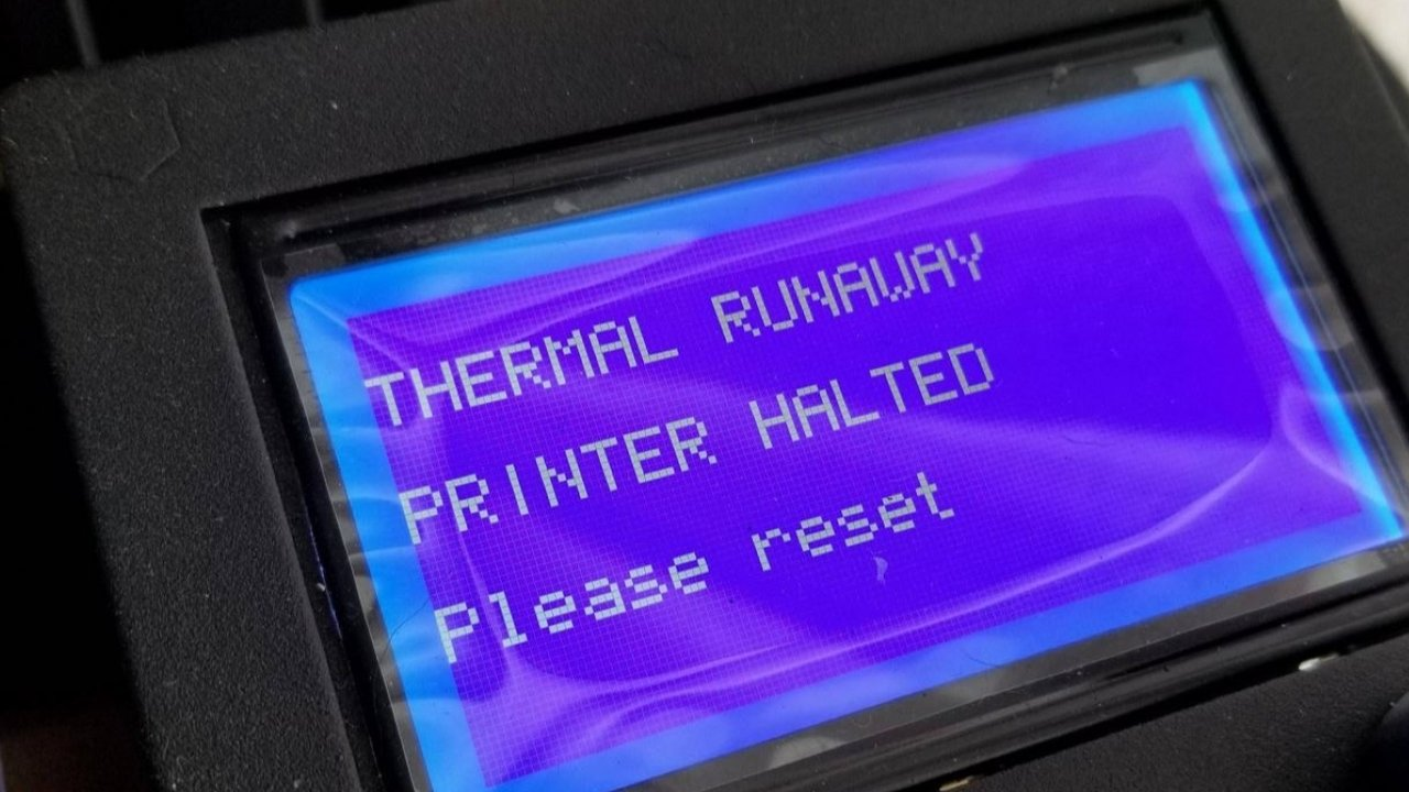 Ender 3 Thermal Runaway: How to Solve It | All3DP