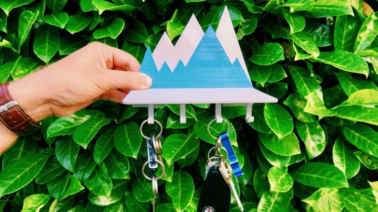 10 3D Printed Key Holders: Never Lose Your Keys Again! | All3DP