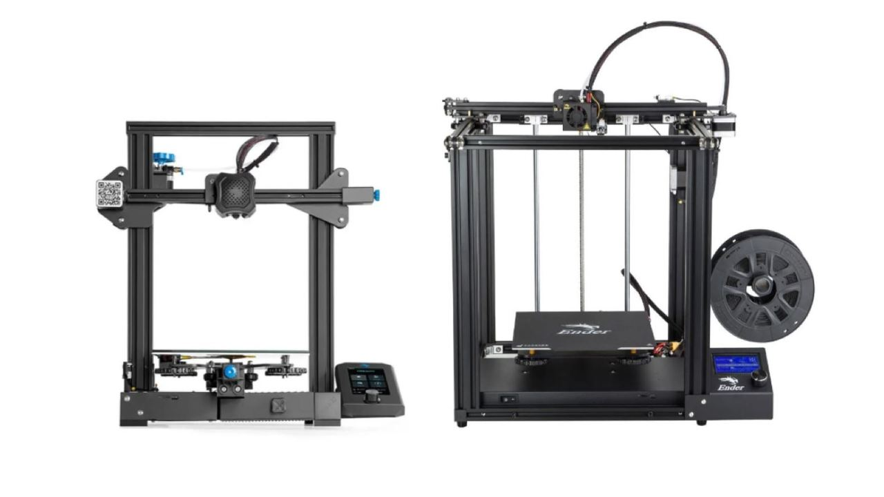 Ender 3 V2 vs Ender 5: The Differences | All3DP