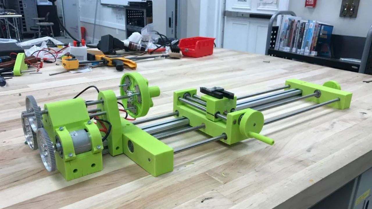 3D Printed Lathe: 10+ Great Projects to Build Your Own | All3DP