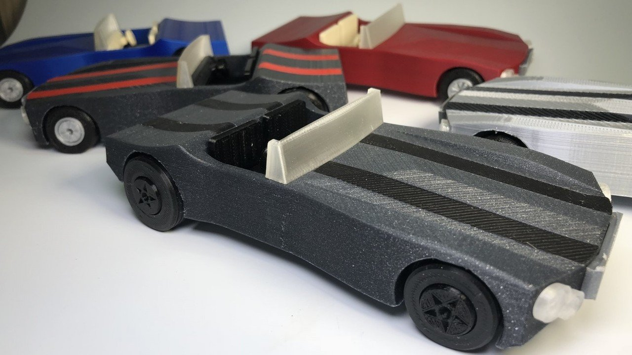 3D Printed Toy Cars: 10 Great Models to Lead the Way | All3DP