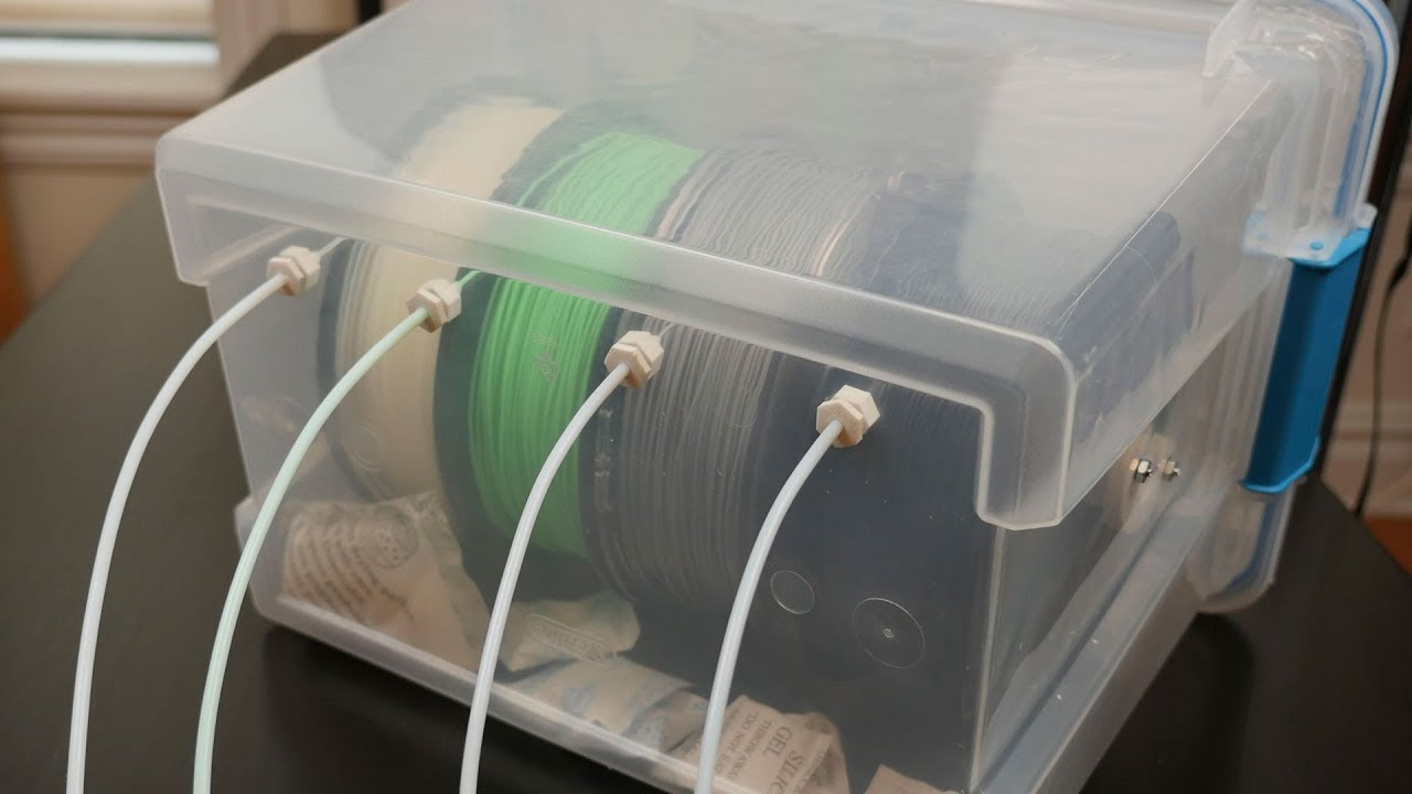 3D Printer Filament Storage: 10 Ways to Store Filament | All3DP