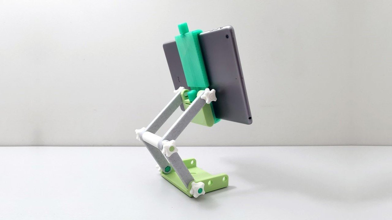 3D Printed iPad Stand: 10 Great 3D Printed Tablet Stands | All3DP