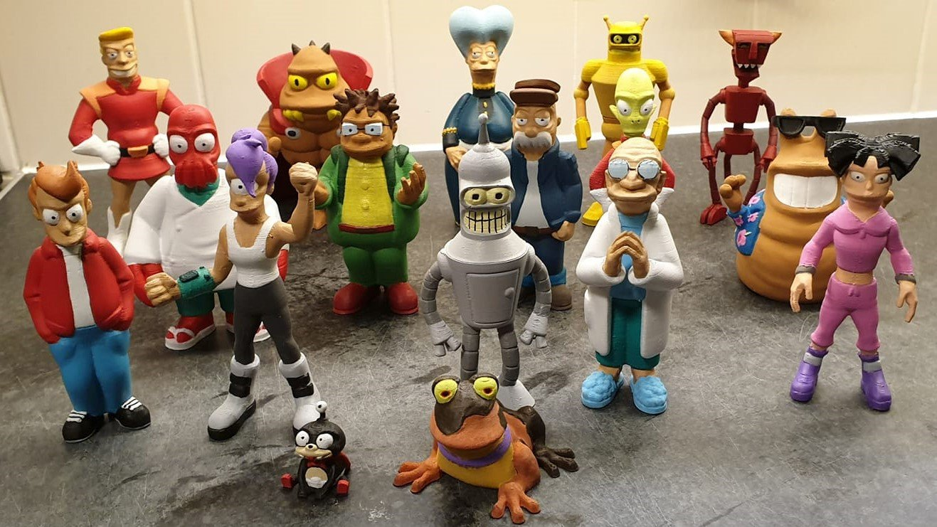 Futurama 3D Prints: Great 3D Models for Long-Time Fans | All3DP